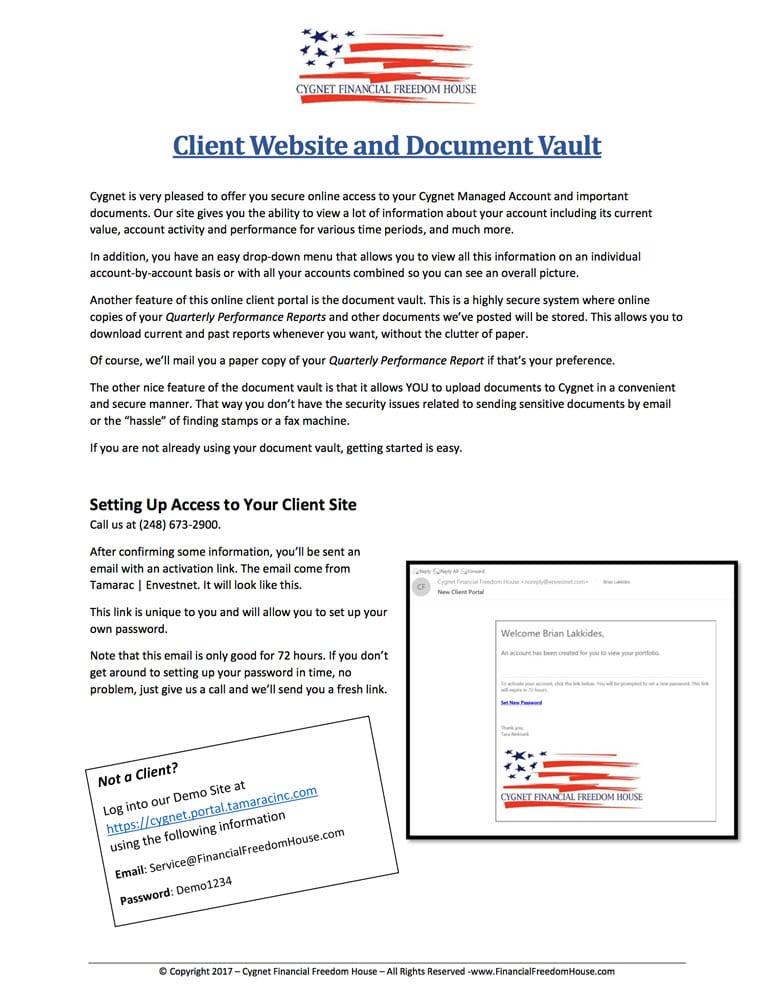 Portal Instructions
