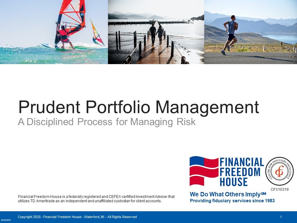 Prudent Portfolio Management